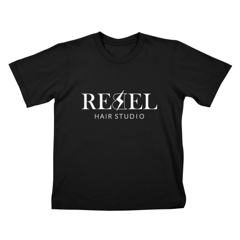Rebel Hair Studio White Kids T-Shirt by Rebel Hair Studio Merch
