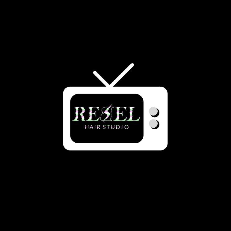 Rebel TV Home Bath Mat by Rebel Hair Studio Merch