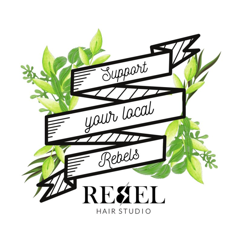 Support your local Rebel Accessories Face Mask by Rebel Hair Studio Merch