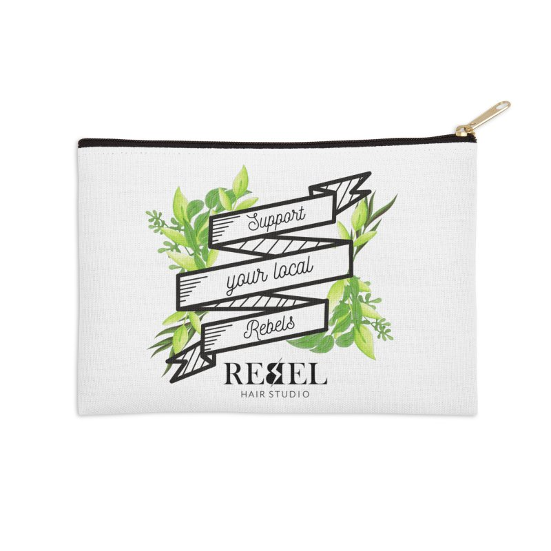 Support your local Rebel Accessories Zip Pouch by Rebel Hair Studio Merch
