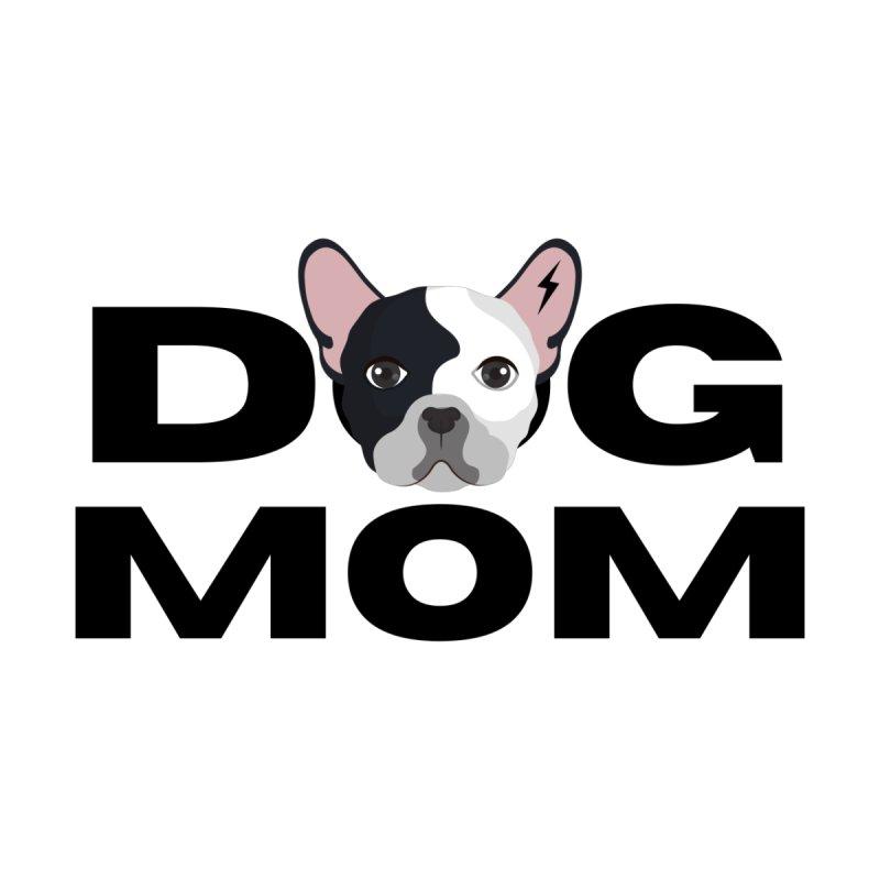DOG MOM black Accessories Bag by Rebel Hair Studio Merch