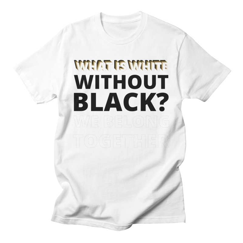 We Belong Together Women's T-Shirt by Rebel Hair Studio Merch