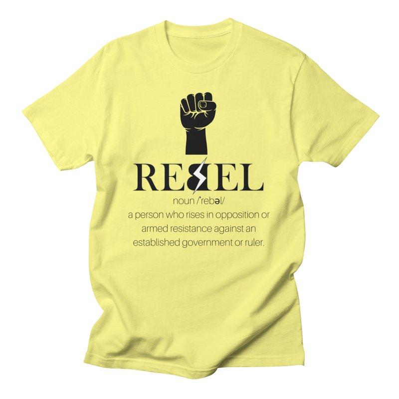 Rebel, Noun Men's T-Shirt by Rebel Hair Studio Merch