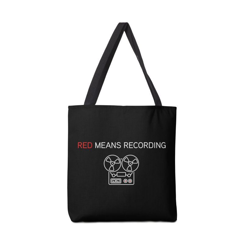 Reel to Reel Accessories Bag by Red Means Recording