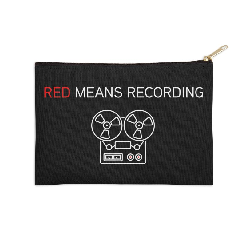 Reel to Reel Accessories Zip Pouch by Red Means Recording