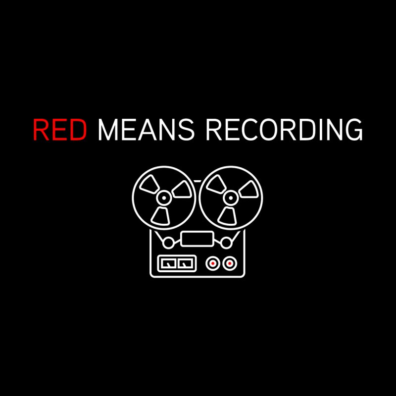 Reel to Reel Men's T-Shirt by Red Means Recording