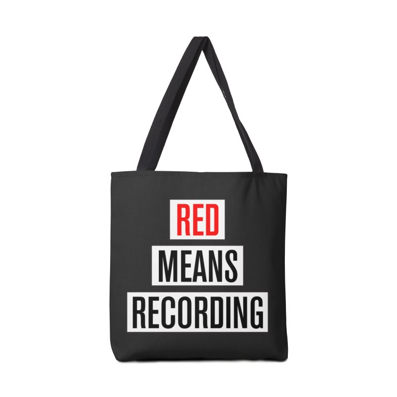 WOW BIG FONT Accessories Tote Bag Bag by Red Means Recording