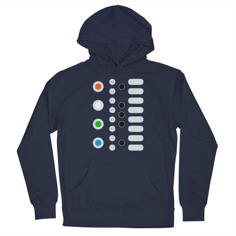 Big Smol Synth Men's Pullover Hoody by Red Means Recording
