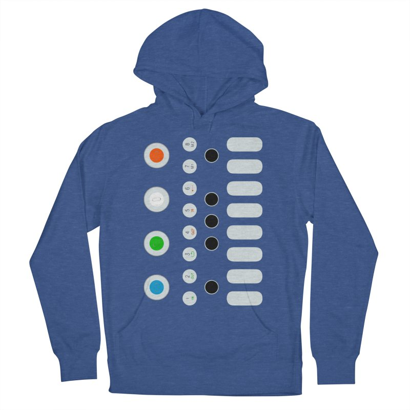 Big Smol Synth Women's French Terry Pullover Hoody by Red Means Recording