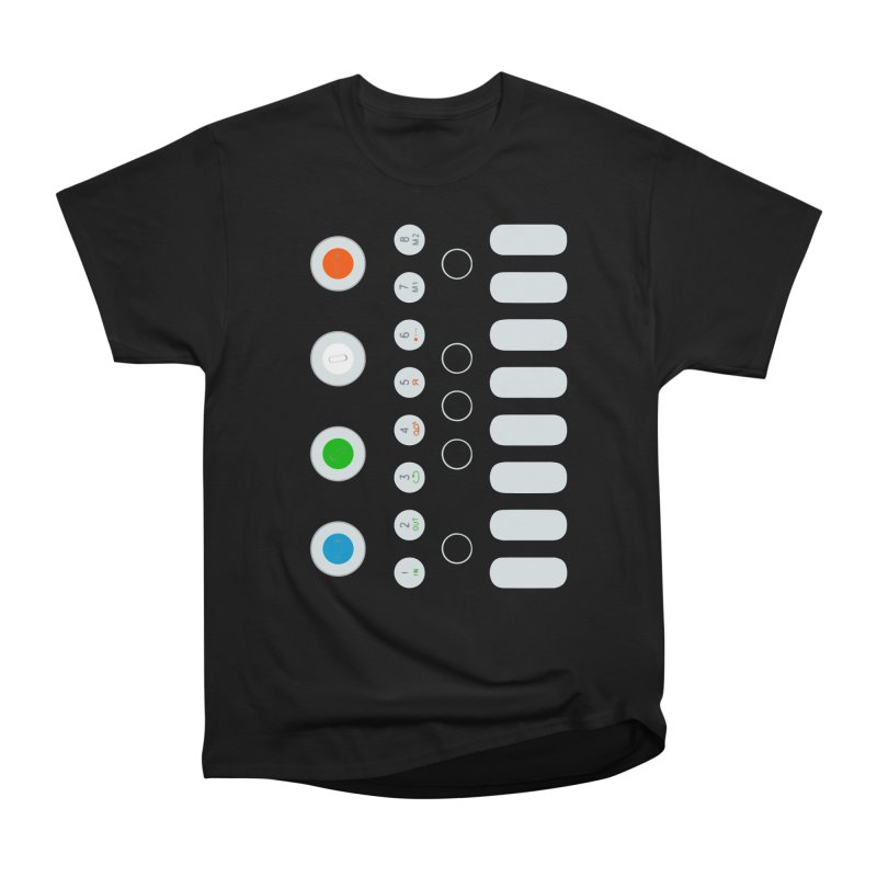 Big Smol Synth Men's Heavyweight T-Shirt by Red Means Recording
