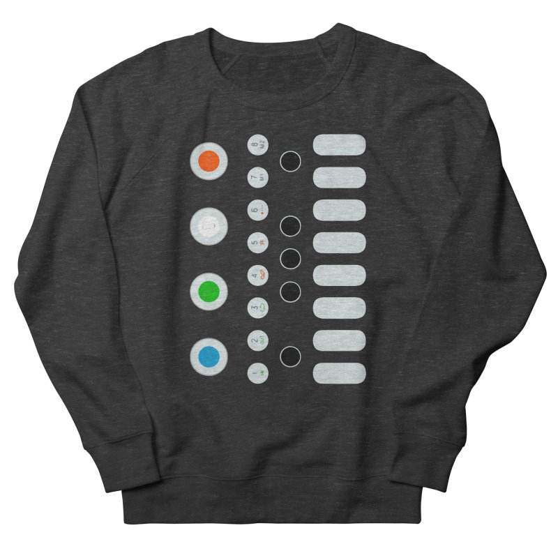 Big Smol Synth Women's French Terry Sweatshirt by Red Means Recording