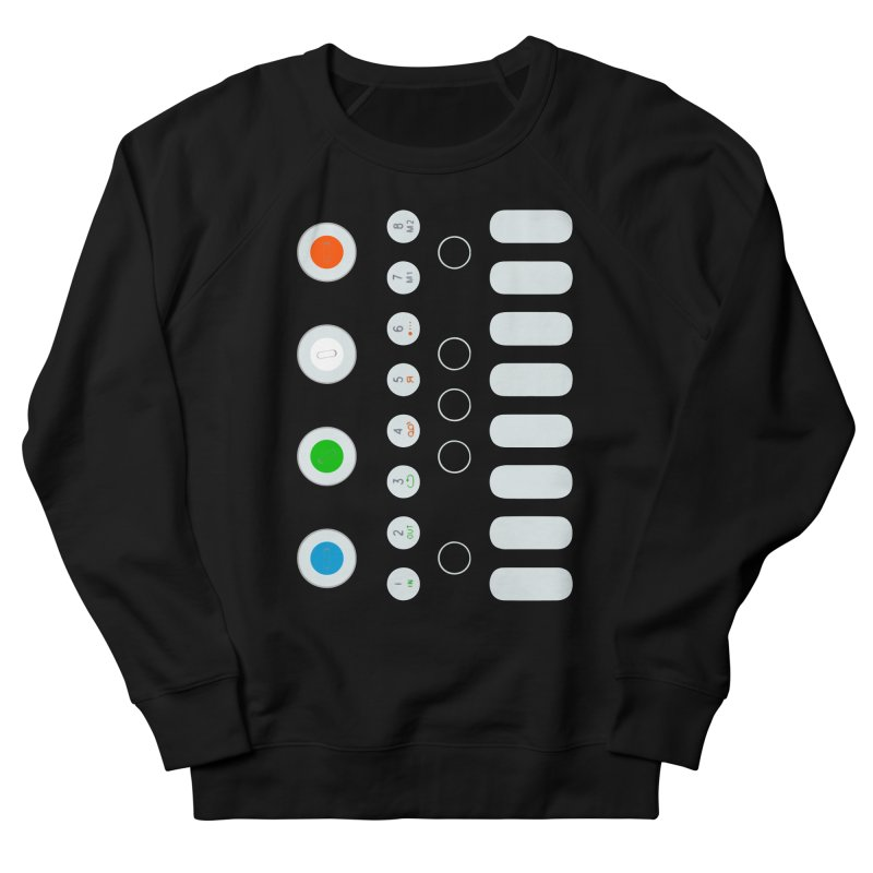 Big Smol Synth Men's French Terry Sweatshirt by Red Means Recording