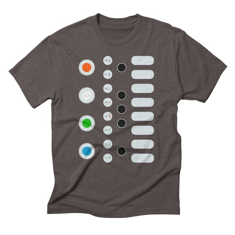 Big Smol Synth Men's Triblend T-Shirt by Red Means Recording