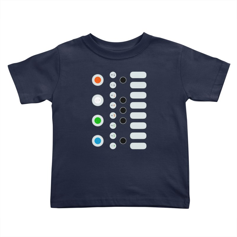 Big Smol Synth Kids Toddler T-Shirt by Red Means Recording