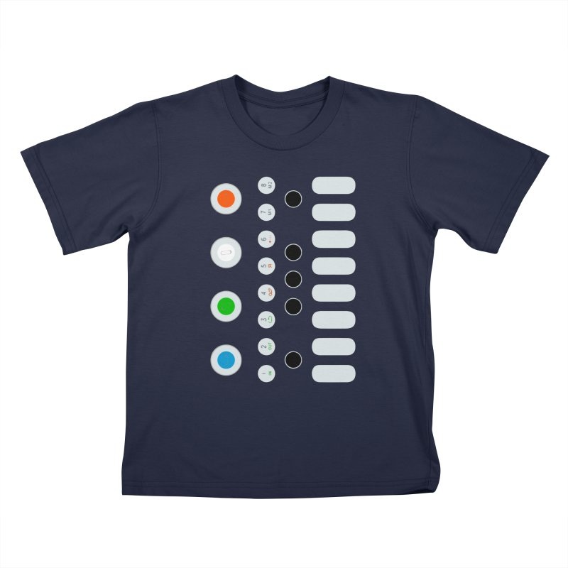Big Smol Synth Kids T-Shirt by Red Means Recording