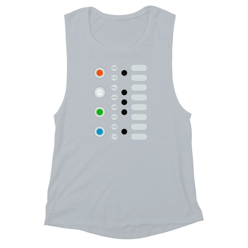 Big Smol Synth Women's Muscle Tank by Red Means Recording