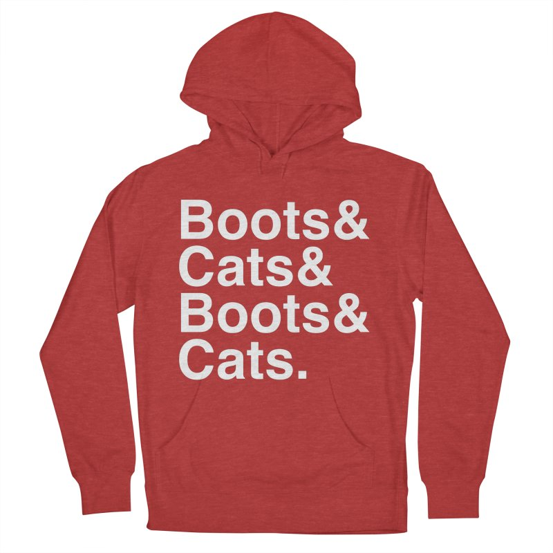 Are We Cool Yet? Men's French Terry Pullover Hoody by Red Means Recording