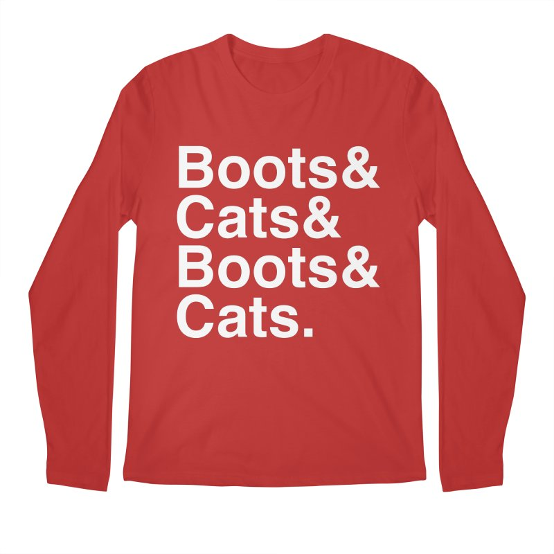 Are We Cool Yet? Men's Regular Longsleeve T-Shirt by Red Means Recording