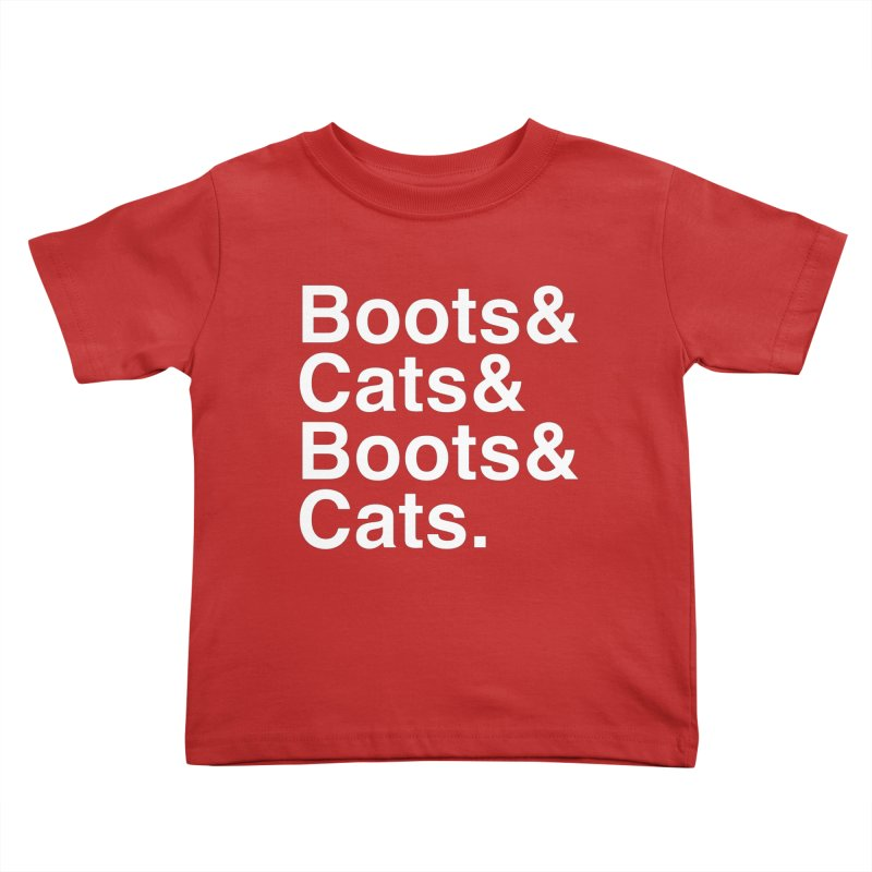 Are We Cool Yet? Kids Toddler T-Shirt by Red Means Recording