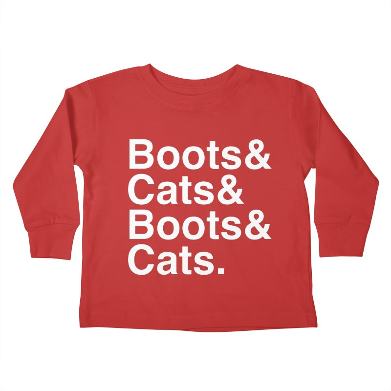 Are We Cool Yet? Kids Toddler Longsleeve T-Shirt by Red Means Recording