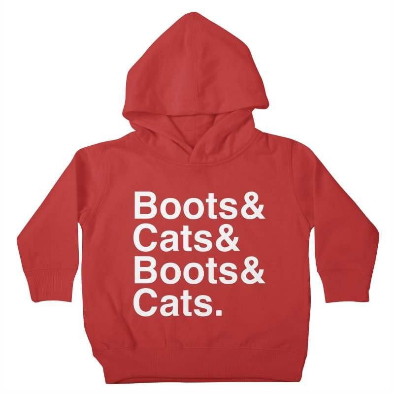 Are We Cool Yet? Kids Toddler Pullover Hoody by Red Means Recording