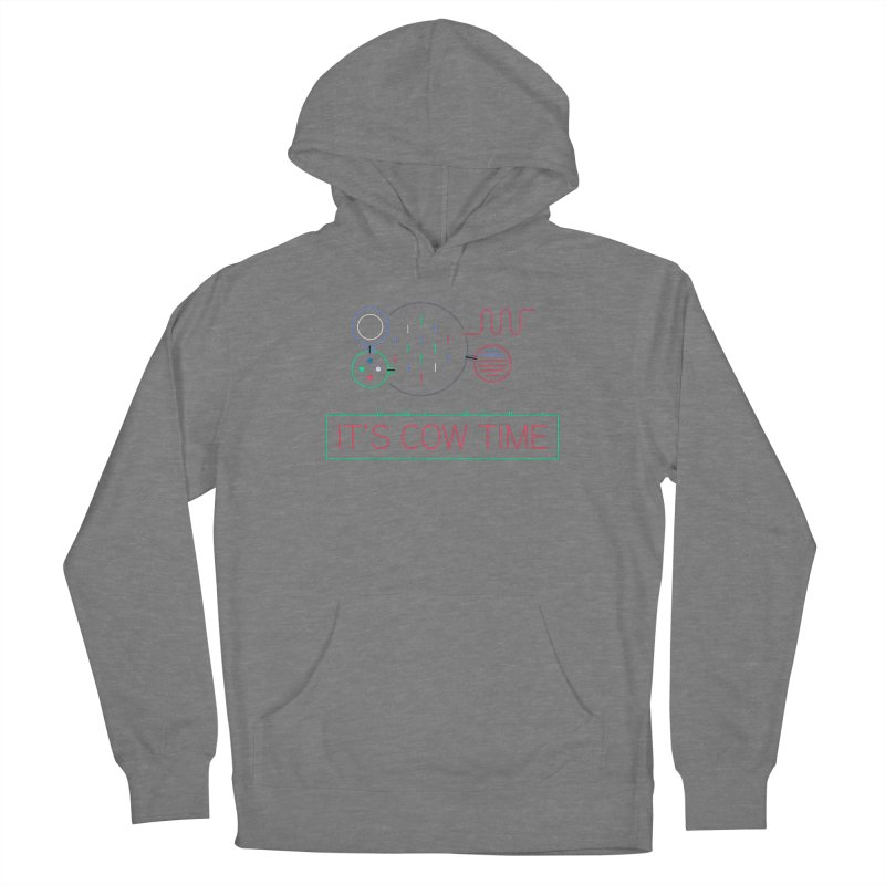 COW TIME Women's Pullover Hoody by Red Means Recording