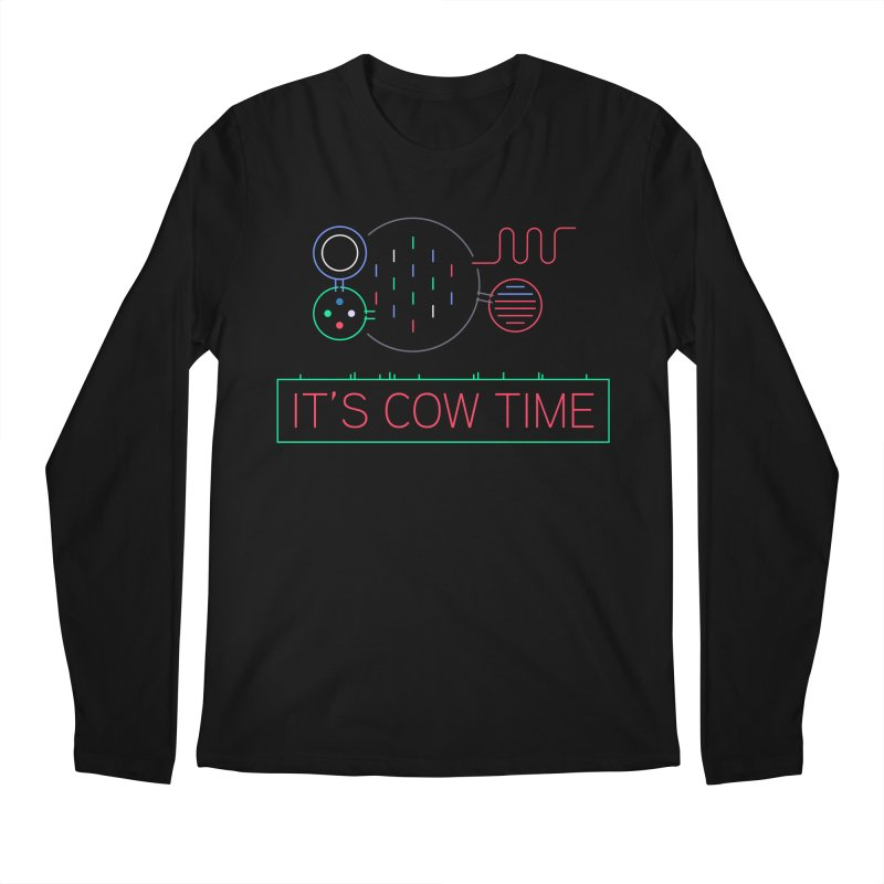 COW TIME Men's Regular Longsleeve T-Shirt by Red Means Recording