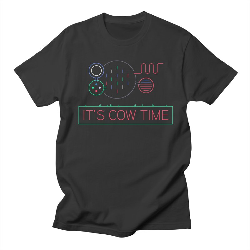 COW TIME Men's Regular T-Shirt by Red Means Recording