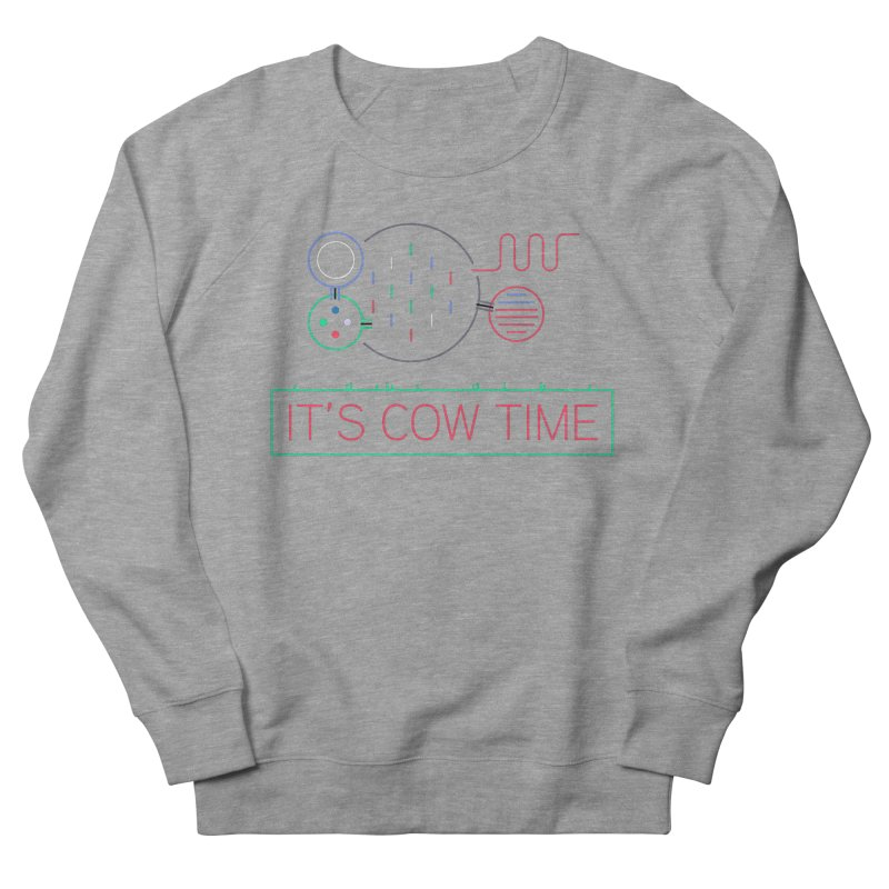 COW TIME Men's French Terry Sweatshirt by Red Means Recording