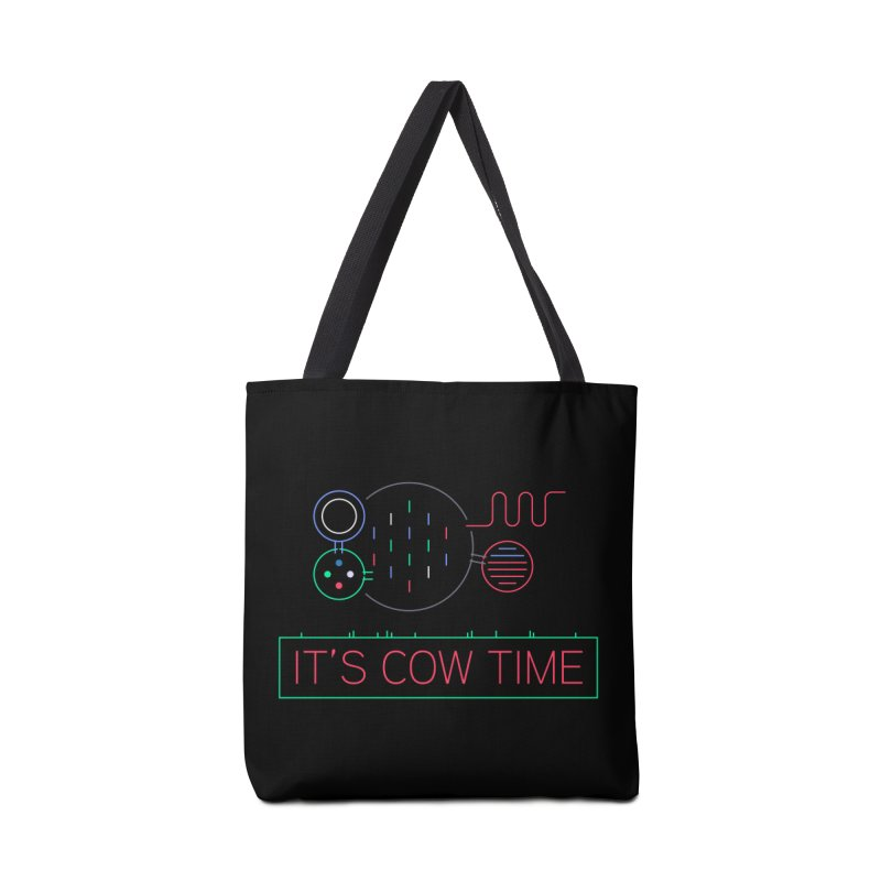 COW TIME Accessories Tote Bag Bag by Red Means Recording