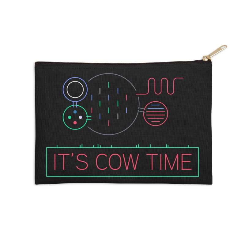 COW TIME Accessories Zip Pouch by Red Means Recording