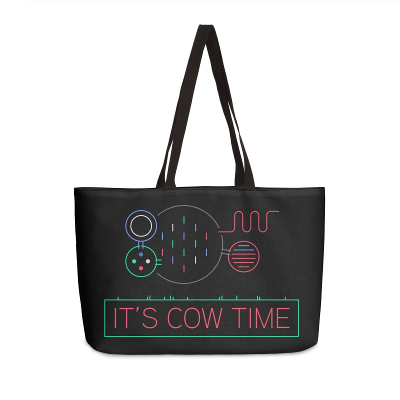 COW TIME Accessories Weekender Bag Bag by Red Means Recording