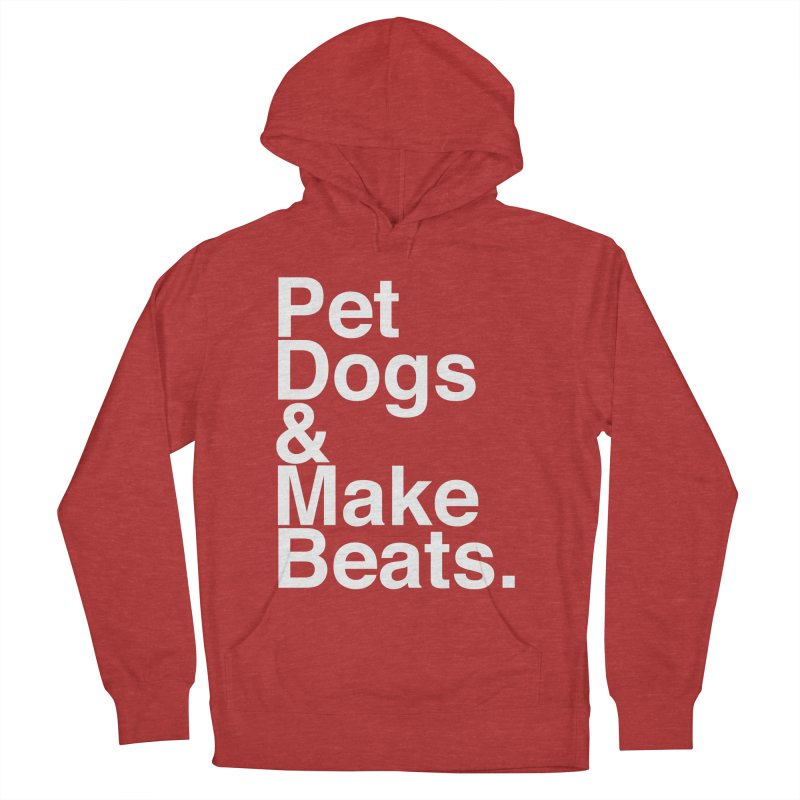 Life is Simple Women's French Terry Pullover Hoody by Red Means Recording