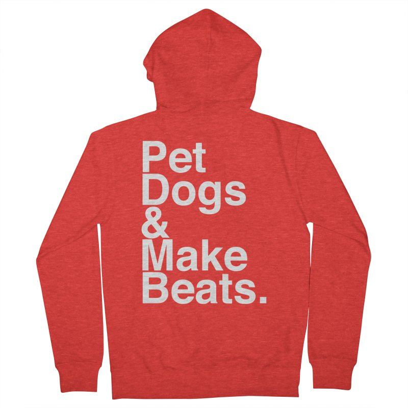 Life is Simple Men's Zip-Up Hoody by Red Means Recording