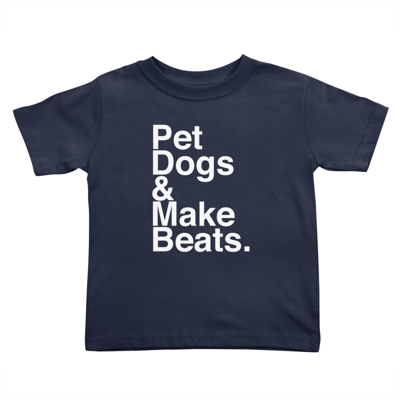 Life is Simple Kids Toddler T-Shirt by Red Means Recording