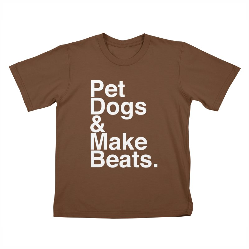 Life is Simple Kids T-Shirt by Red Means Recording