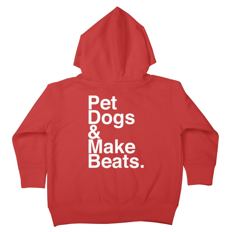 Life is Simple Kids Toddler Zip-Up Hoody by Red Means Recording