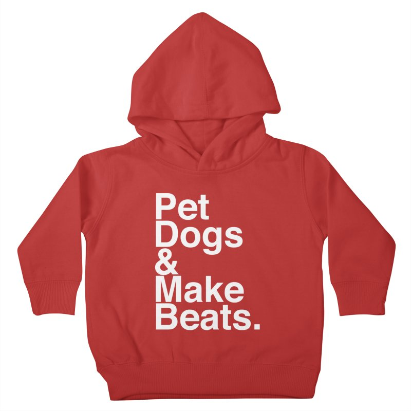 Life is Simple Kids Toddler Pullover Hoody by Red Means Recording