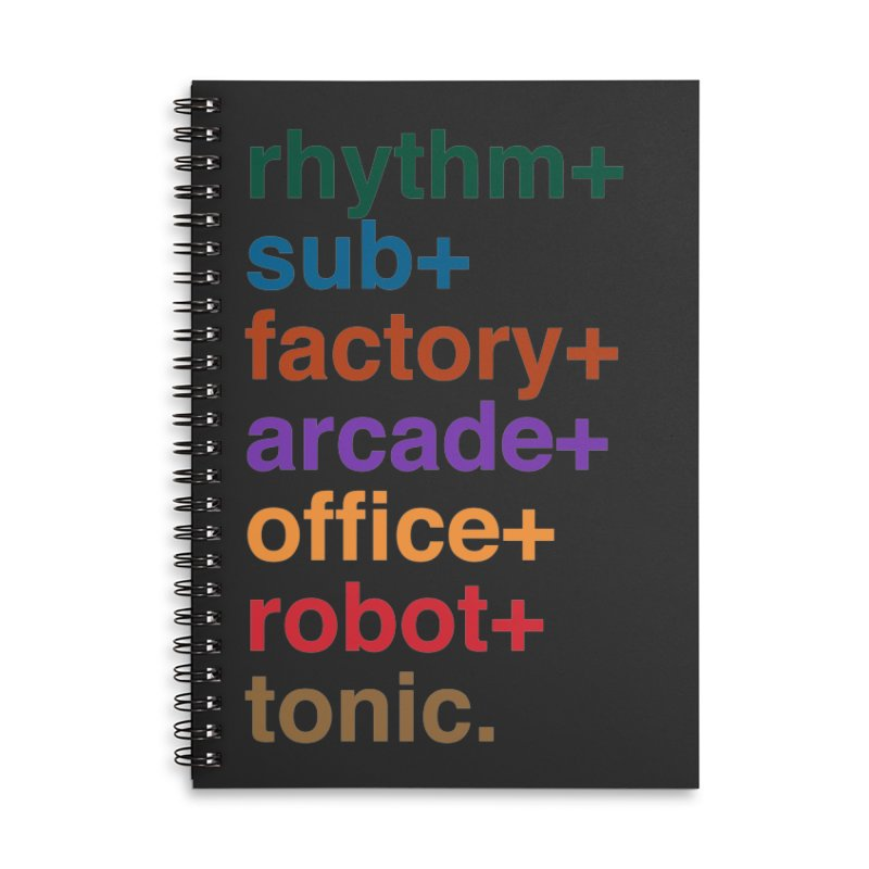 You're the Operator Accessories Lined Spiral Notebook by Red Means Recording