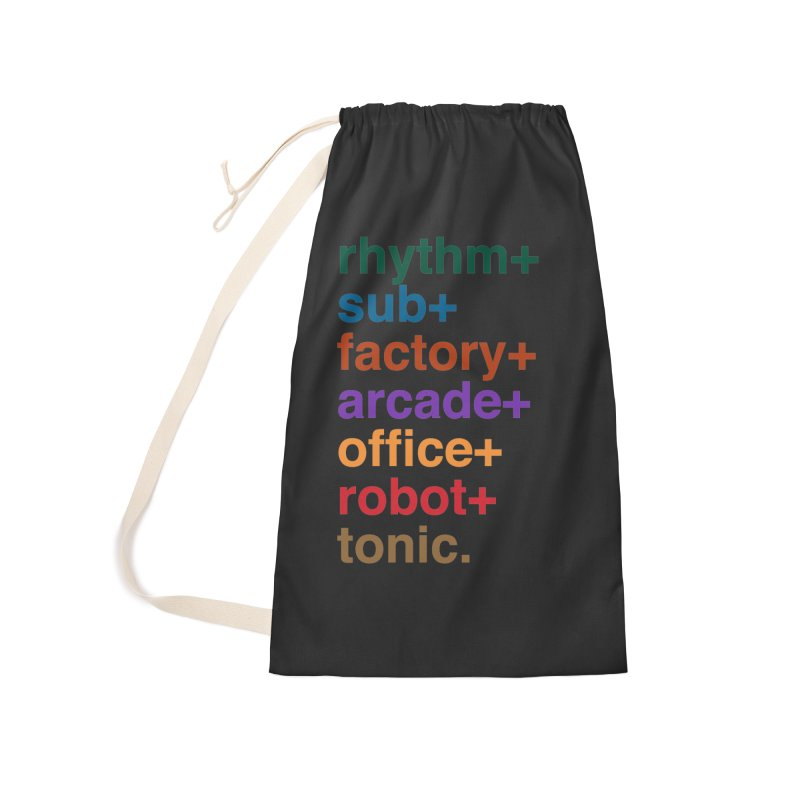 You're the Operator Accessories Laundry Bag Bag by Red Means Recording