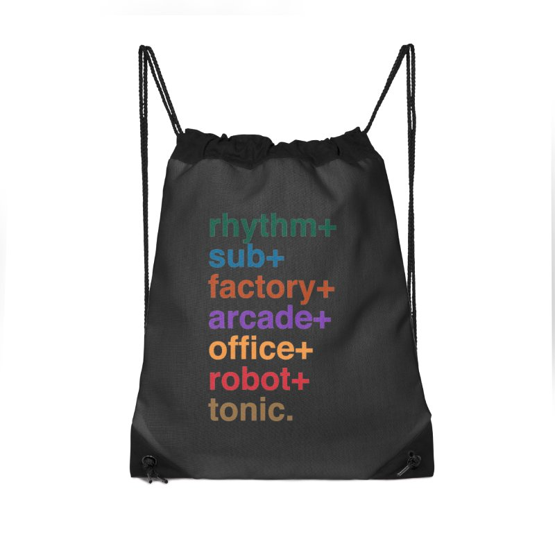 You're the Operator Accessories Drawstring Bag Bag by Red Means Recording