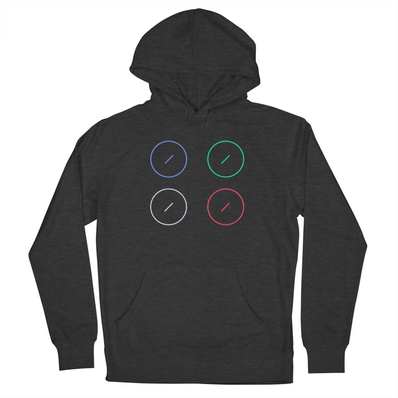 Just Knob Things Men's French Terry Pullover Hoody by Red Means Recording