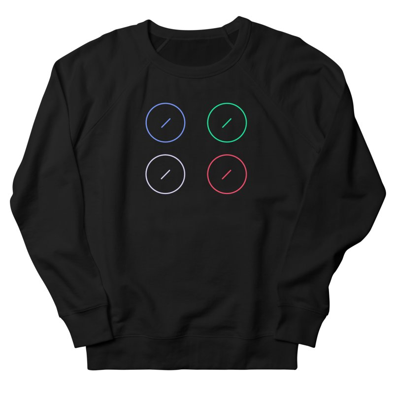 Just Knob Things Women's French Terry Sweatshirt by Red Means Recording