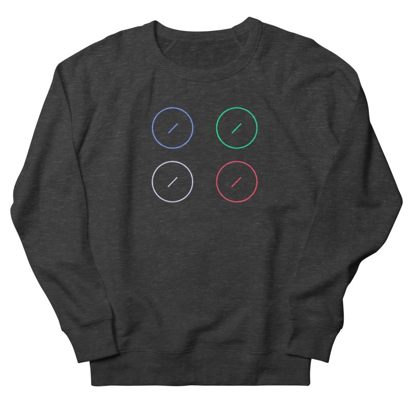 Just Knob Things Men's French Terry Sweatshirt by Red Means Recording