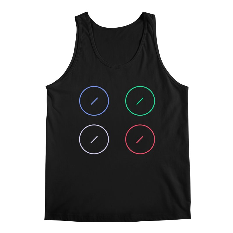 Just Knob Things Men's Regular Tank by Red Means Recording