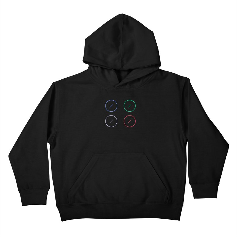 Just Knob Things Kids Pullover Hoody by Red Means Recording
