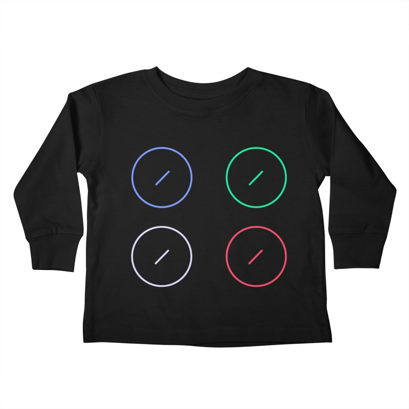 Just Knob Things Kids Toddler Longsleeve T-Shirt by Red Means Recording