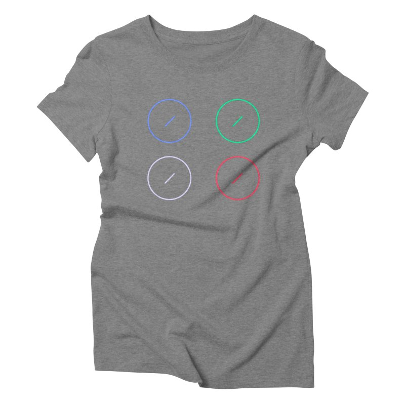 Just Knob Things Women's Triblend T-Shirt by Red Means Recording