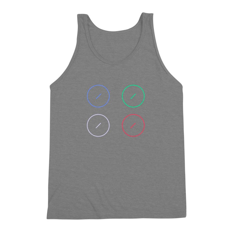 Just Knob Things Men's Triblend Tank by Red Means Recording
