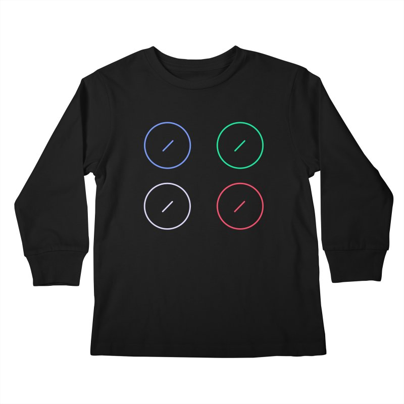 Just Knob Things Kids Longsleeve T-Shirt by Red Means Recording